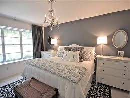 Light Grey Bedroom Ideas Classic With Mirror Ceiling Lighting Chandelier And Curtain Amazing Vintage Zigzag Wooden Flooring