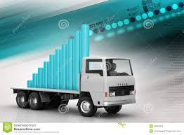 100 Truck Payment Transportation Of Business Graph In Stock Image Image Of