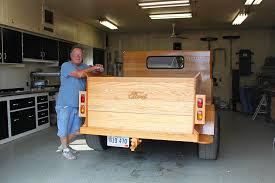 Custom Built All Wood Ford Pickup Truck