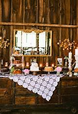 Rustic Wedding Cake Table Decorations Ideas