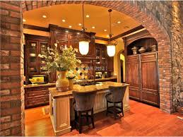 tuscan style kitchen on together with pendant lights and