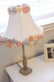 Simple DIY Project Plain Jane Lamp Shade Turned Into An Adorable