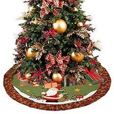 Christmas Tree Amazon Prime by Amazon Com Imperial Home Christmas Tree Skirt 36