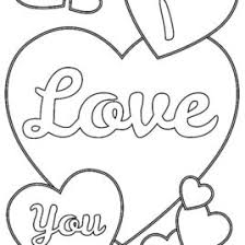 Coloring Pages Love Sheets Heart