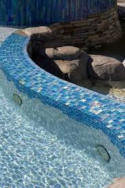 Npt Pool Tile Arctic by Lightwaves National Pool Tile Group Pools Mosaic Tiles