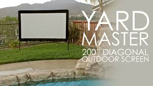 Elite Screens Yard Master (200