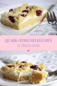 schnelles rezept kirsch streuselkuchen mit quark