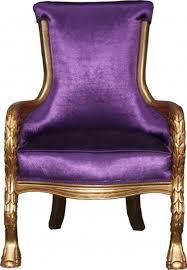 casa padrino barock lounge sessel lila gold mod2 möbel antik stil wohnzimmer club möbel sessel