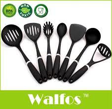 set ustensiles de cuisine walfos marque 7 pièces nouveau résistant à la chaleur