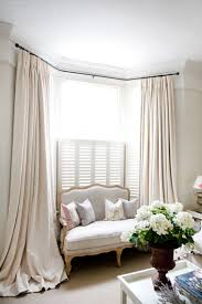 Spring Loaded Curtain Rods Uk by The 25 Best Door Curtain Pole Ideas On Pinterest Diy Curtain