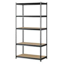 Edsal Metal Storage Cabinets by Amazon Com Muscle Rack 4 Shelf Steel Shelving Silver Vien 18