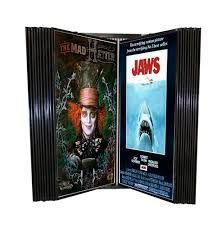 Wall Poster Display Wall Mount Movie Poster Rack