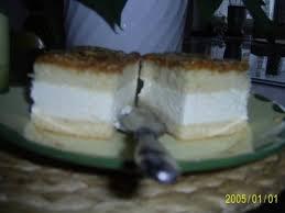 kuchen bienenstich mit vanille creme füllung