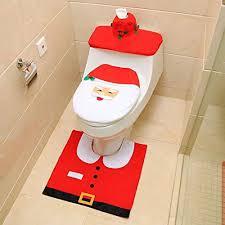 jdd weihnachten toilettensitzbezug weihnachtsdeko wc sitze