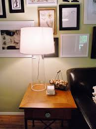 Fillable Craft Table Lamp by Rocky Bella Diy Clear Glass Lamp