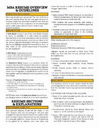 Mba Finance Resume Format For Experience New Career Objective Marketing Nmdnconference Example