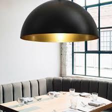 büromöbel 2x pendelleuchte schwarz gold design hänge leuchte