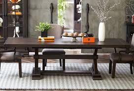 Fulton Street Trestle Dining Table