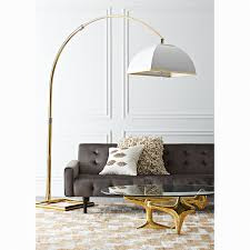 Arc Floor Lamp Canada by 100 Ore Arch Floor Lamp Ore International 84 In 5 Arms Satin