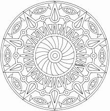Coloring Print Mandalas To Color And For Free About Mandala Pages Coloringpagesabc In