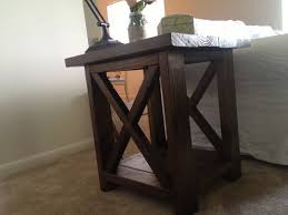 Full Size Of White End Table With Drawer Ana Rustic X Tables Diy Projects Tall Narrow
