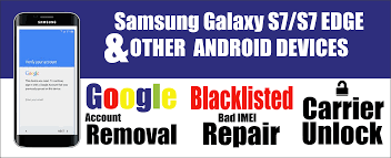 Samsung & iPhone Unlocking Service & Remove Google Accounts