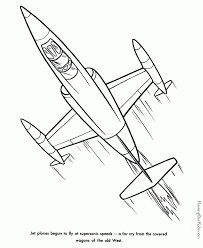 Airplane Coloring Pages For Preschoolers 7cv31