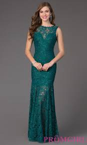 formal glitter lace long dress promgirl