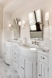 Chandelier Over Bathroom Sink by Chandelier Over Vanity Transitional Bathroom Clark And Co Homes