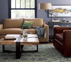Crate And Barrel Tribeca Floor Lamp by Sebago Chair With Fabric Cushion Grayson Chair Crate And Barrel