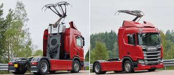 100 Truck And Trailer Supply Scania To 15 PHEV S For German EHighways Trial