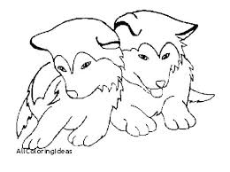 Husky Coloring Pages Puppy To Print Page Dog Printable