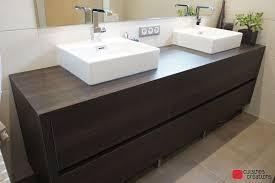 meuble de cuisine dans salle de bain salle de bains sur mesure en alsace cuisines et créations