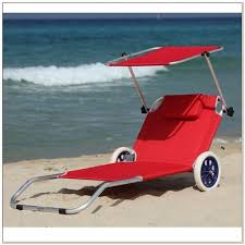 Beach Chair With Footrest And Canopy by Beach Chair With Canopy And Wheels Chairs Home Decorating