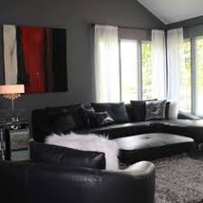 you had me at grey black furniture red accents and bedrooms
