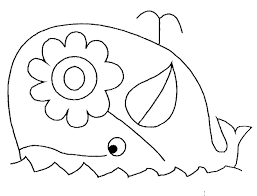 Dibujos Para Colorear Una Ballena Eshellokidscom