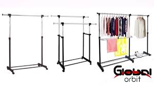 Decorative Metal Garment Rack by Colorful Adjustable Metal Garment Clothes Stand Movable Single