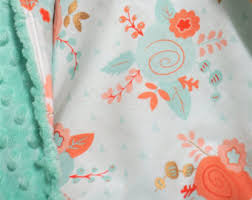 Coral And Mint Baby Bedding by Coral And Mint Baby Etsy