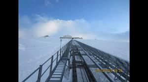 100 Muottas Muragl Funicular Bahn Winter Ascend Punt Graubnden