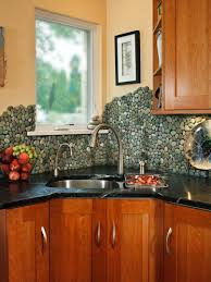 kitchen backsplashes backsplash tile hardwood cabinet