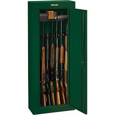 Stack On 14 Gun Security Cabinet Black by Stack On 8 Gun Security Cabinet U2014 Green Key Lock Model Gcg 908