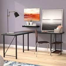 Wayfair Glass Corner Desk by Glass Desks You U0027ll Love Wayfair