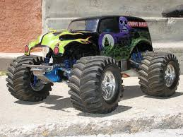 Grave Digger Nitro 1/8 Monster Truck - RC Groups