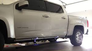 100 Power Steps For Trucks 2016 Chevy Colorado AMP Research YouTube