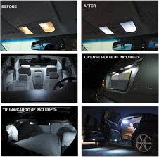 Xenon White Premium Package Kit Led Interior Lights For Jeep