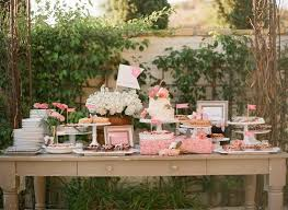 Pink And White Wedding Shower Dessert Display Archive Rentals Olga Table