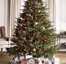 Faux Noble Fir Tree With Illuminate Technology