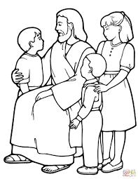 Jesus Parables Coloring Pages
