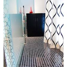 Blue Mosaic Bathroom Mirror by Wholesale Glazed Porcelain Brick Tile Mosaic Black Square Surface