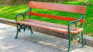 wooden park bench seats designs uk youtube